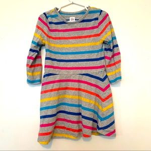 BabyGap dress stripes